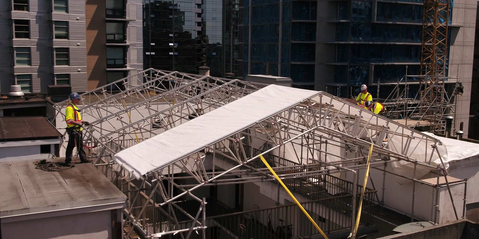Scaffolding solutions that are innovative, safe and cost effective for our customers